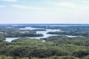 横山展望台から見る英虞湾風景の写真素材 [FYI04766965]