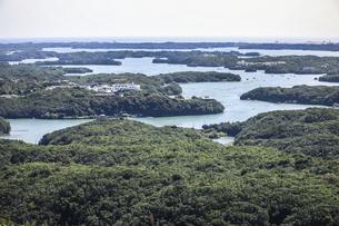 横山展望台から見る英虞湾風景の写真素材 [FYI04766966]