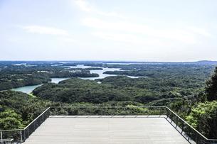 横山展望台から見る英虞湾風景の写真素材 [FYI04766968]