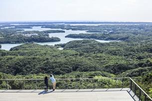 横山展望台から見る英虞湾風景の写真素材 [FYI04766969]
