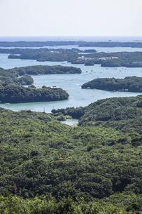 横山展望台から見る英虞湾風景の写真素材 [FYI04766971]