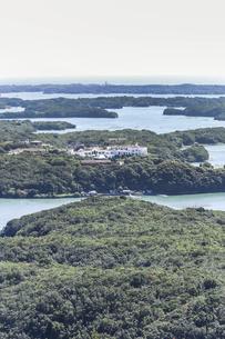 横山展望台から見る英虞湾風景の写真素材 [FYI04766972]