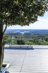 横山展望台から見る英虞湾風景の写真素材 [FYI04766974]