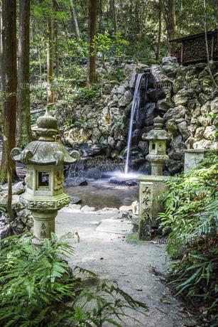 天の岩戸禊滝の写真素材 [FYI04766984]