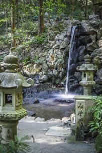 天の岩戸禊滝の写真素材 [FYI04766985]