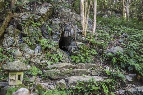 天の岩戸風穴の写真素材 [FYI04766987]