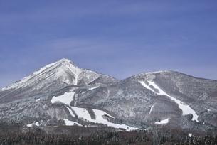 磐梯山 猪苗代スキー場の写真素材 [FYI04767450]