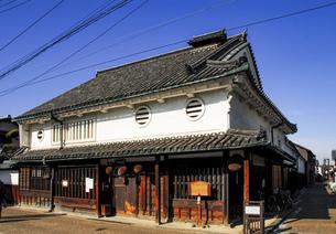 河合家住宅 奈良県今井町の古い街並みの写真素材 [FYI04767519]