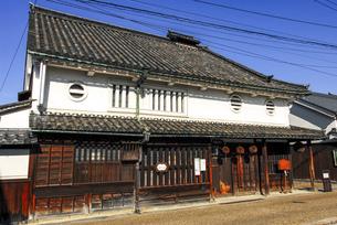 河合家住宅 奈良県今井町の古い街並みの写真素材 [FYI04767520]