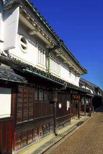 河合家住宅 奈良県今井町の古い街並みの写真素材 [FYI04767521]