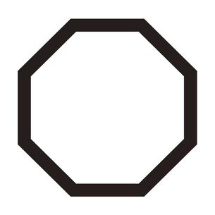 家紋 角のイラスト素材 [FYI04767559]