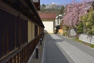春の飯坂温泉 堀切亭の写真素材 [FYI04767688]