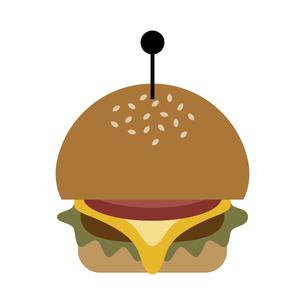 ハンバーガー イラストのイラスト素材 [FYI04767807]