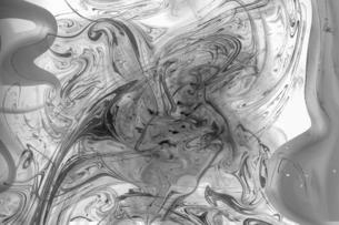墨流し風リキッドアートの写真素材 [FYI04768105]