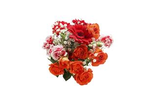 様々な花のブーケの写真素材 [FYI04768108]