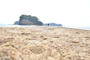 香川県小豆島・砂場の天使の散歩道の写真素材 [FYI04768241]