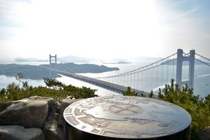 鷲羽山展望台からの景色の写真素材 [FYI04768244]