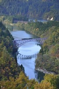 会津只見線 第一橋梁の写真素材 [FYI04768299]