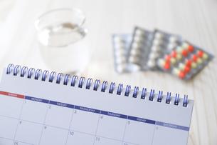 お薬カレンダーの写真素材 [FYI04768500]