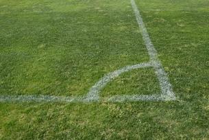 サッカーのラインの写真素材 [FYI04768566]