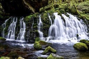 秋田県にかほ市 元滝伏流水の写真素材 [FYI04768569]