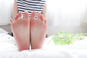 足の裏の写真素材 [FYI04769052]