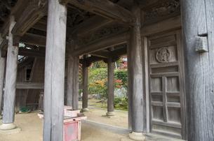 秋の行基寺の写真素材 [FYI04769129]