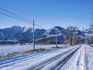 冬の十勝の写真素材 [FYI04769510]