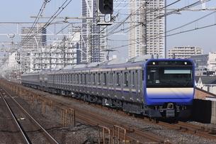 総武快速線・横須賀線用 E235系1000番台の写真素材 [FYI04769601]