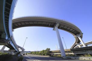 東関東自動車道 高谷ジャンクションの写真素材 [FYI04769612]