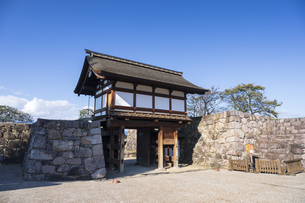 松代城跡の写真素材 [FYI04770011]