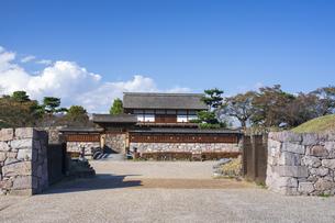松代城跡の写真素材 [FYI04770012]