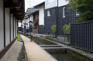 瀬戸川と白壁土蔵街の写真素材 [FYI04770030]