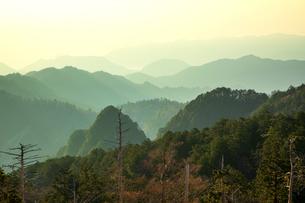 大台ケ原山からの眺望の写真素材 [FYI04770157]