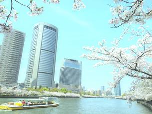 春の大阪アメニティパークの写真素材 [FYI04770167]