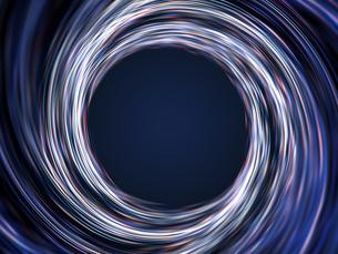渦巻く光線群のイラスト素材 [FYI04770552]