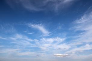 晴れ渡る広大な空の写真素材 [FYI04770638]