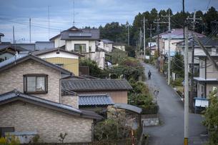 住宅街俯瞰の写真素材 [FYI04770646]