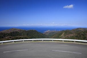 国道339号と龍飛崎と北海道の写真素材 [FYI04770890]