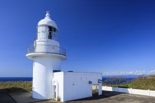 龍飛崎灯台と北海道の写真素材 [FYI04770898]