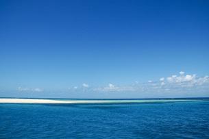 美しいグレートバリアリーフの島の写真素材 [FYI04770937]