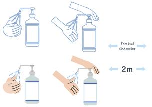 感染対策イラストのイラスト素材 [FYI04771065]
