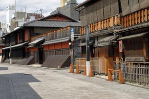 6月 祇園の花見小路の写真素材 [FYI04771270]