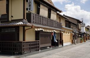 6月 祇園の花見小路の写真素材 [FYI04771271]