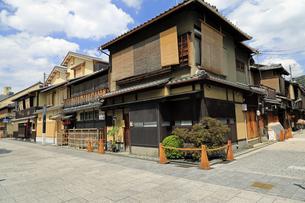 6月 祇園の花見小路の写真素材 [FYI04771274]