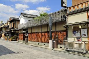 6月 祇園の花見小路の写真素材 [FYI04771277]