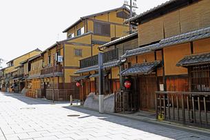 6月 祇園の花見小路の写真素材 [FYI04771281]