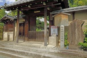 6月 幕末の御陵衛士の屯所 - 京都東山「ねねの道」にて-の写真素材 [FYI04771297]