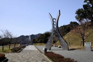 舞鶴引揚記念公園の風景の写真素材 [FYI04771509]