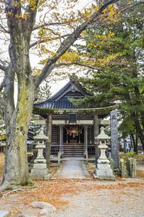 三居稲荷神社の写真素材 [FYI04771542]